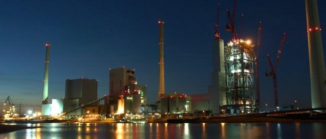 Coal Power Plant Mannheim