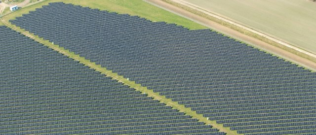 Photovoltaic Power Station in Lower Saxony.