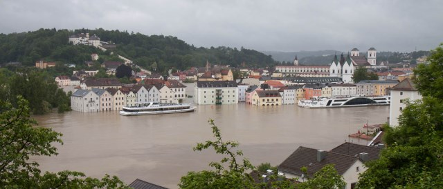 Flooding in Passau