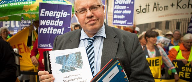 Federal Minister for the Environmental Altmaier