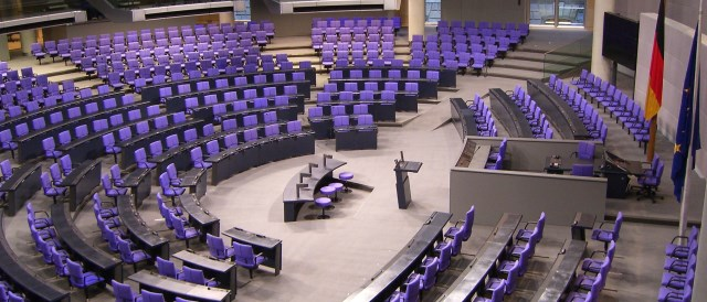 Plenary of the Bundestag