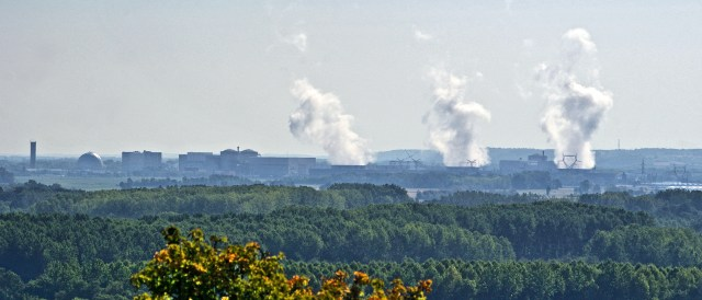 Only green from afar - French nuclear power. (Photo by Daniel Jolivet, CC BY 2.0)