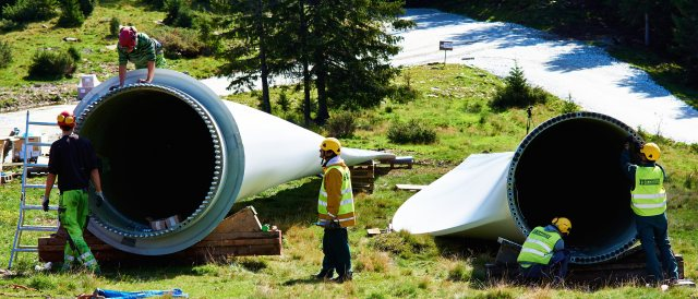 Wind Turbine Installation