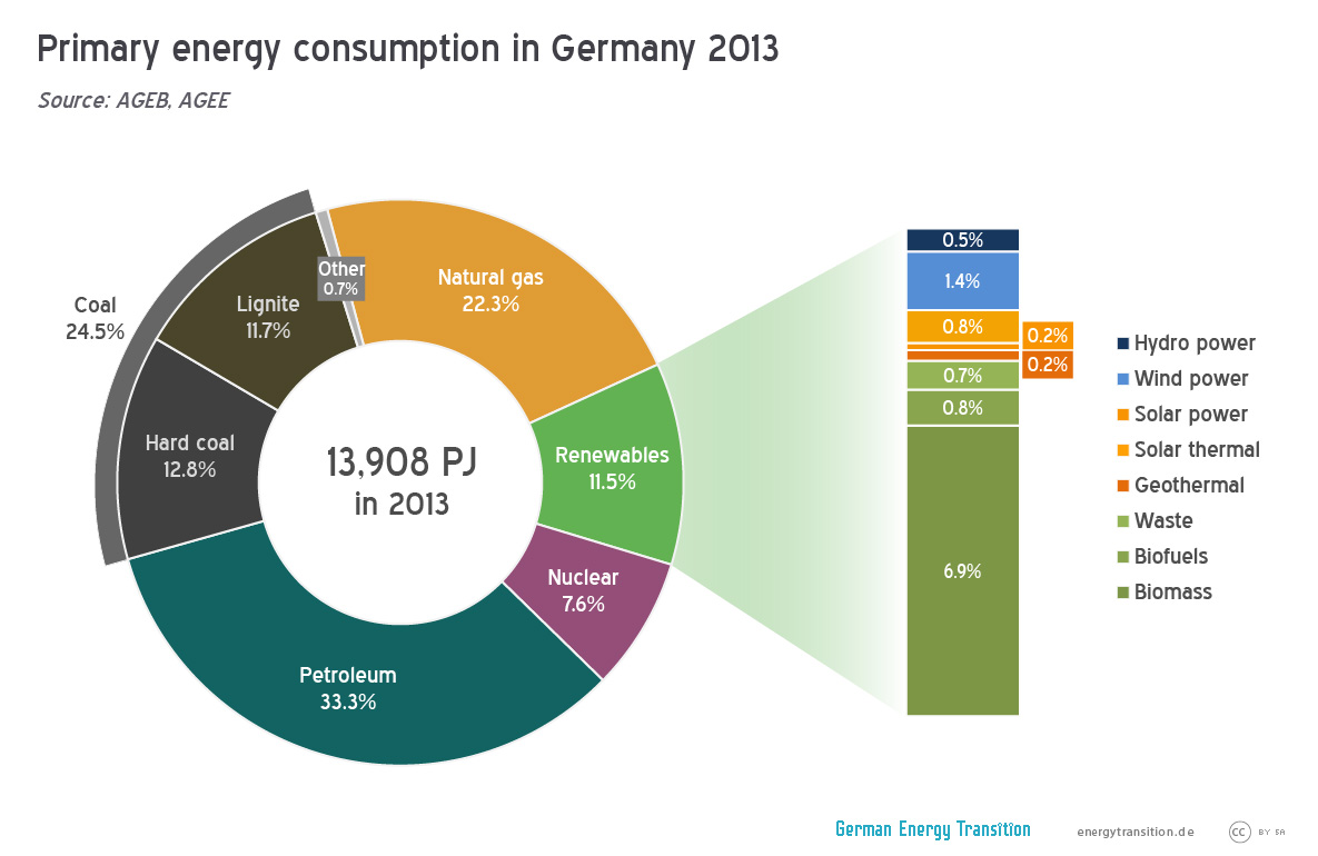 Primary Energy Consumption in 2013