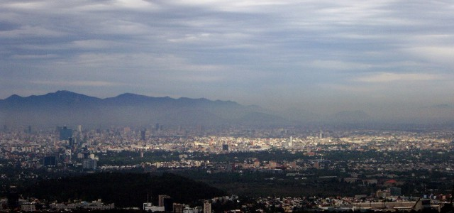 Smog over Mexico City