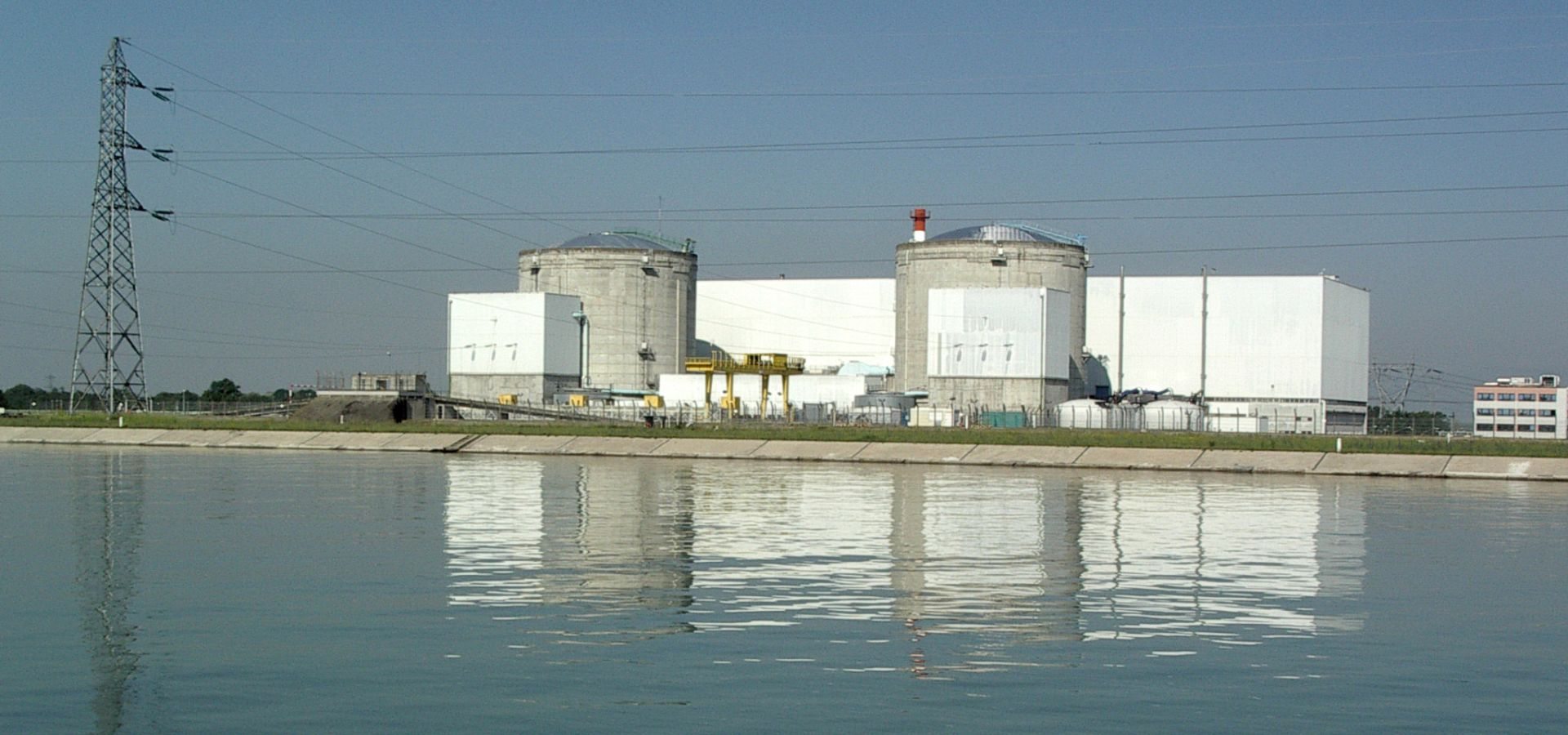 The nuclear power plant in Fessenheim