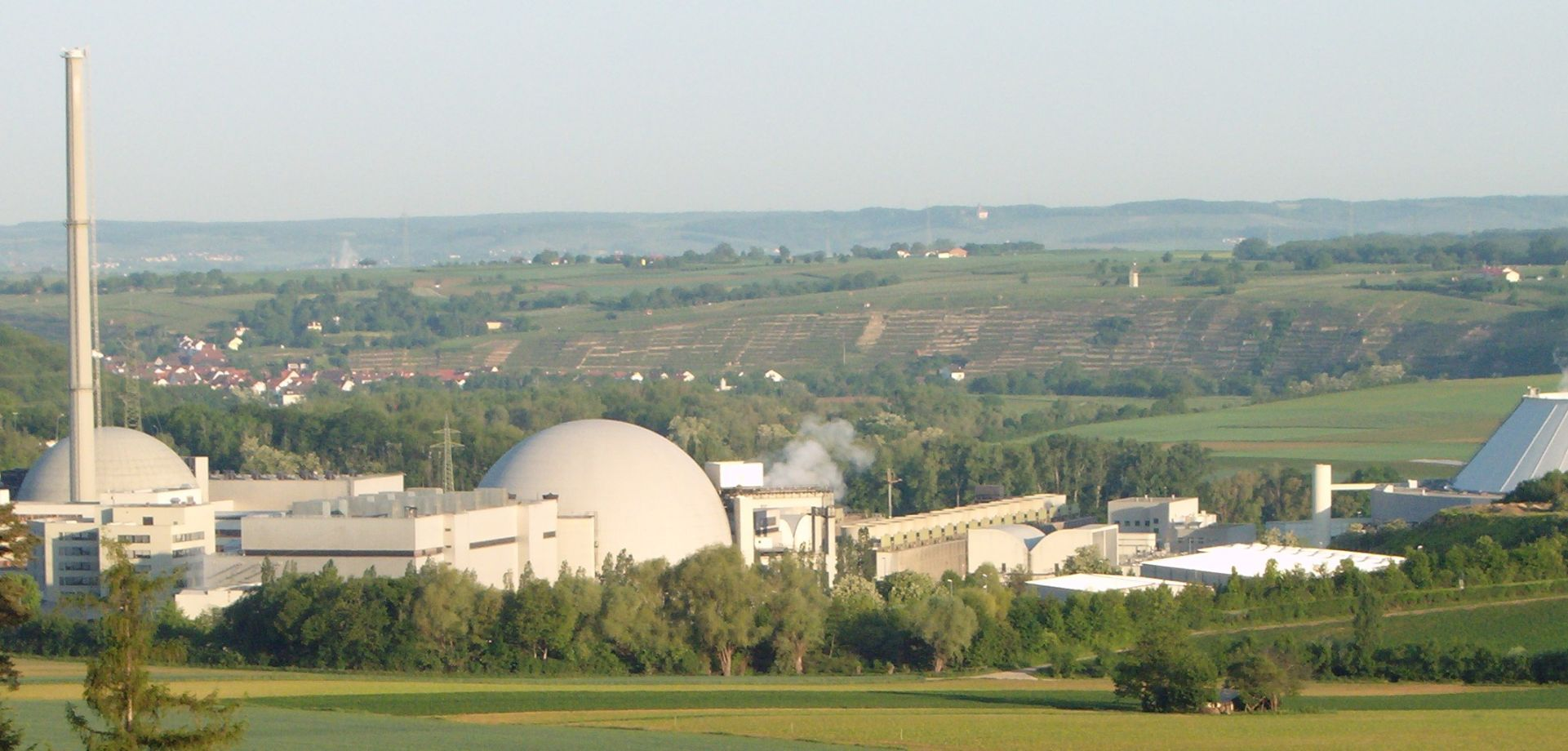 The nuclear power plant Neckarwestheim 1