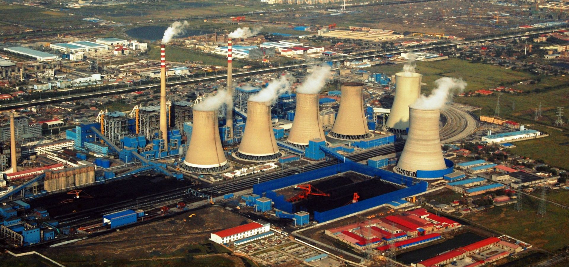 A coal power plant in China
