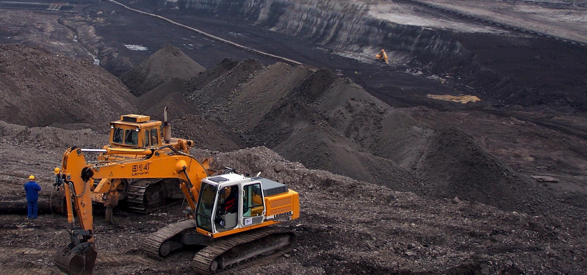 Turow coal mine southern poland