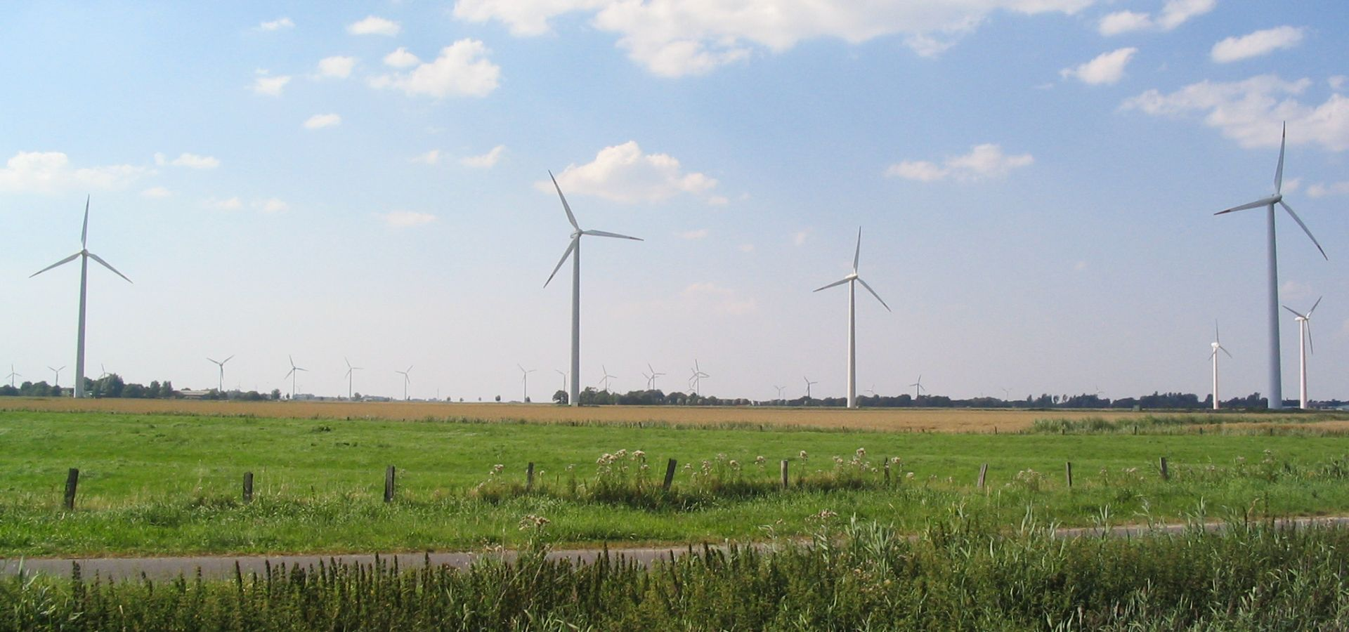 Fiasco, or success? Wind farm in Neuenkirchen, Germany (Photo by Dirk Ingo Franke, edited, CC BY-SA 1.0)