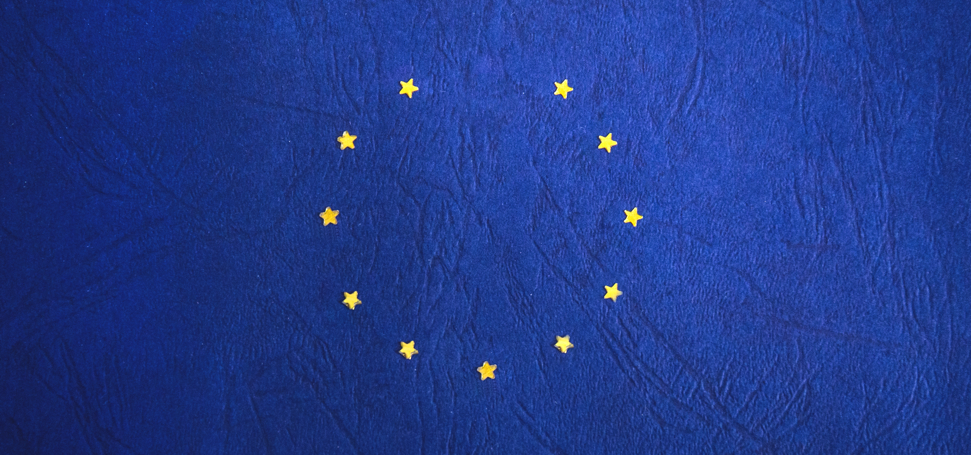 Brexit EU flag missing one star