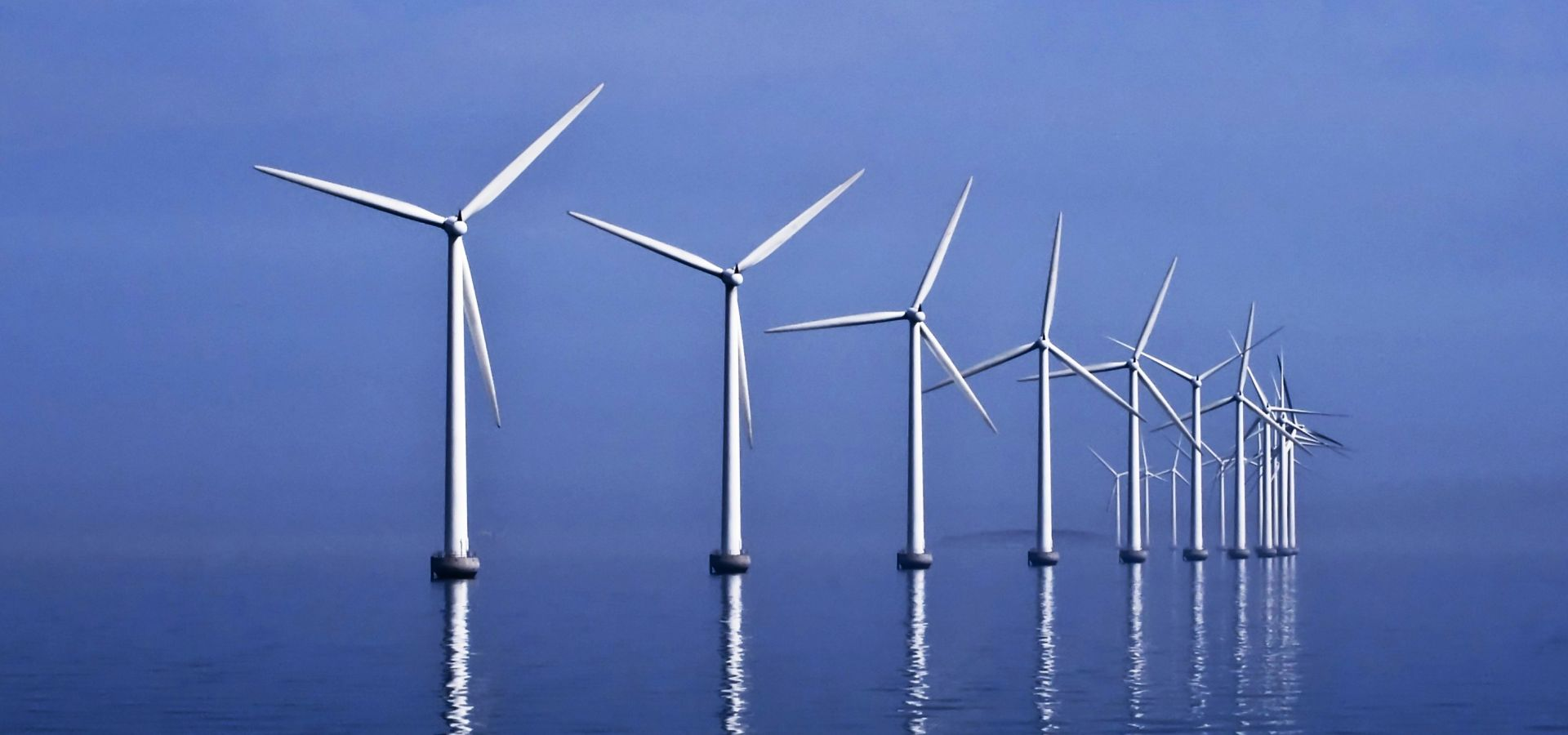 Middelgrunden offshore wind farm (40 MW) observed in Øresund