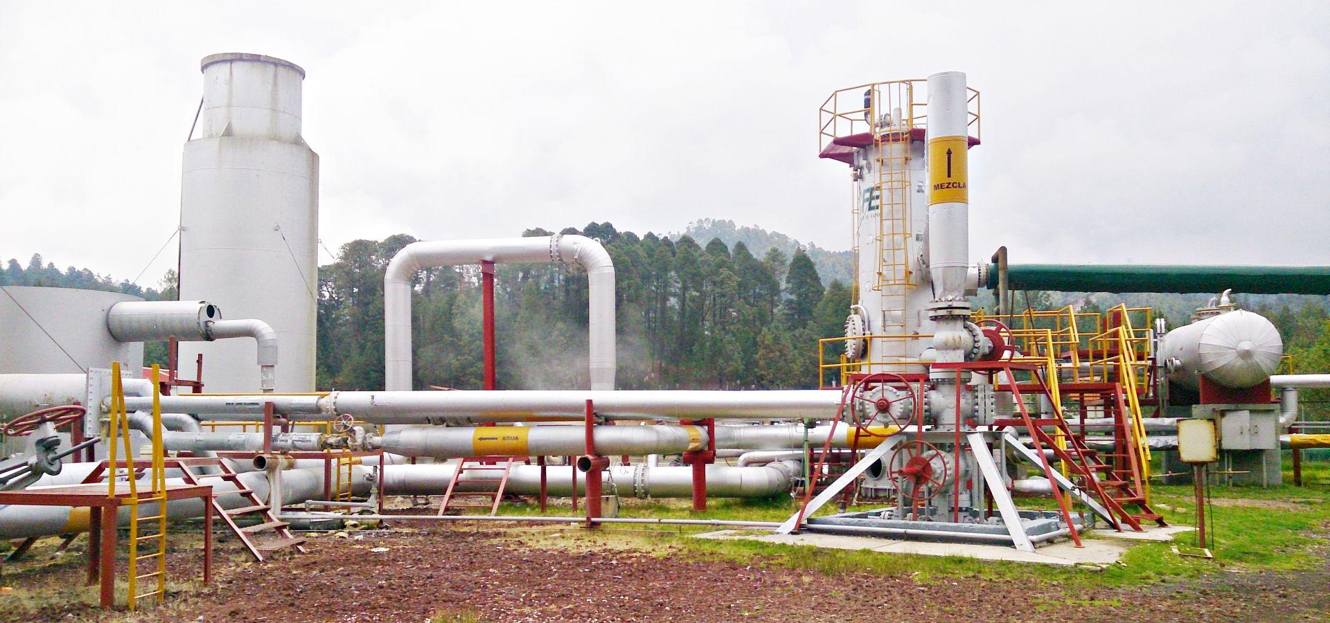 Los Azufres Geothermal Plant
