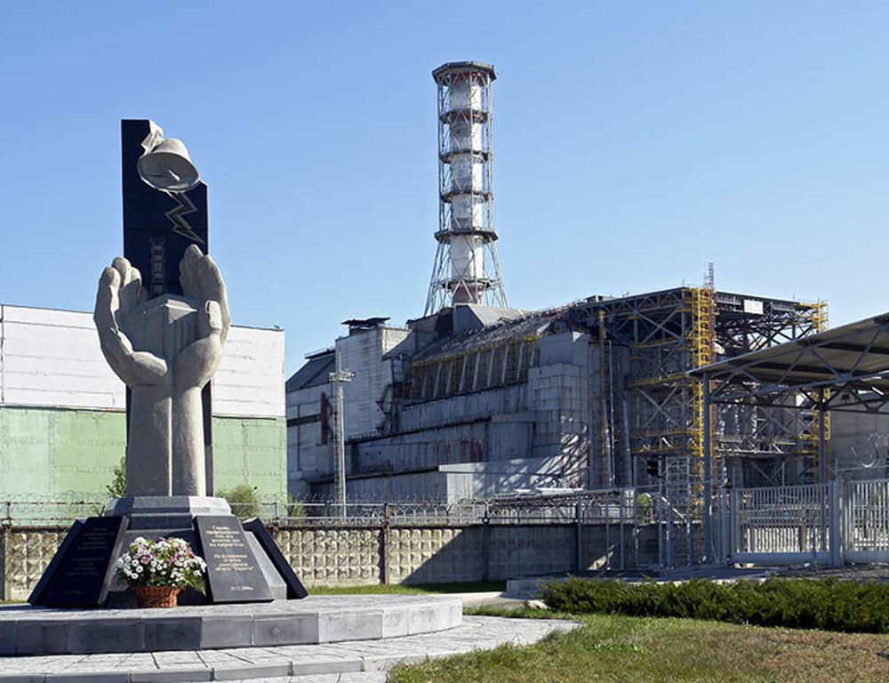 energytransition.de - image: Nuclear Power Plant Chernobyl memorial