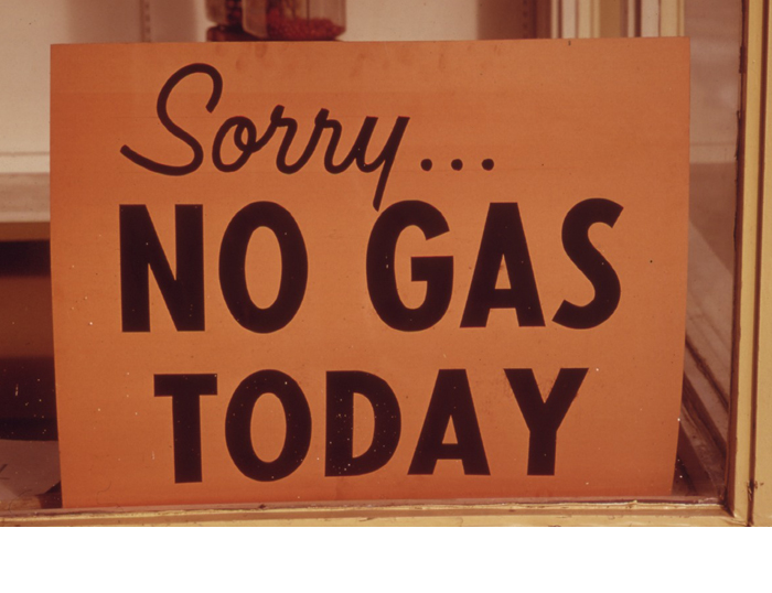 energytransition.de - image: Sorry.. No gas today. USA, 1973