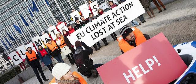 NGO EU2030 protest