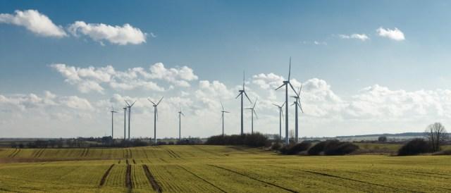 Wind Farm in Brandenburg