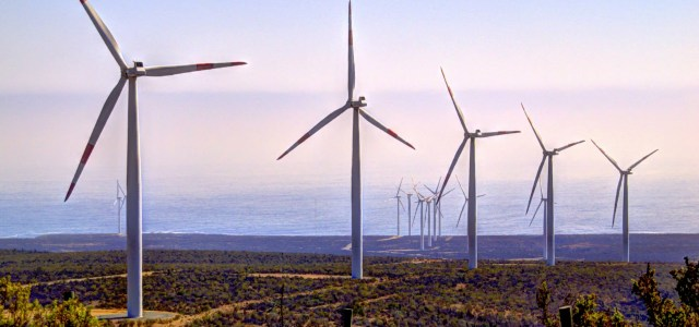 Wind Farm in Chile