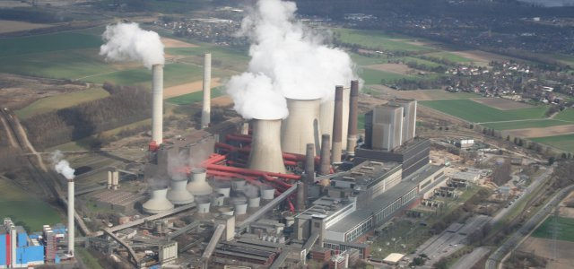 Coal Power Plant in Weisweiler