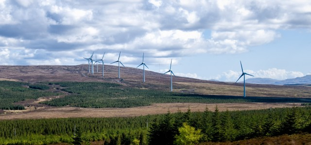 Windfarm in Scotland
