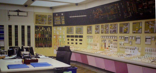 Gravelines Nuclear Power Plant Control Room