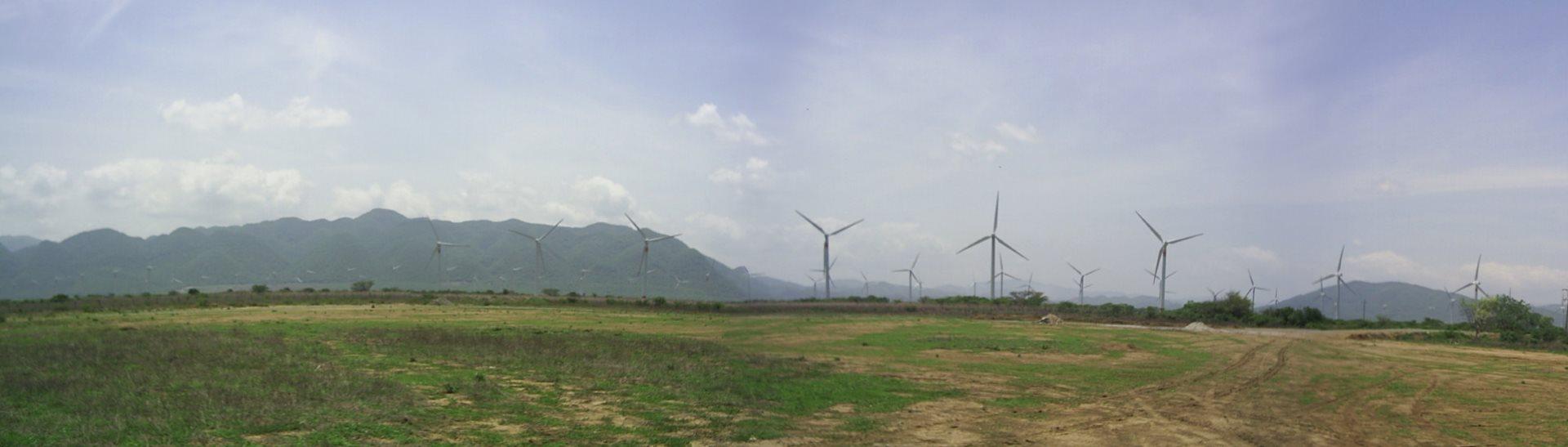 Wind Turbines in Oaxaca