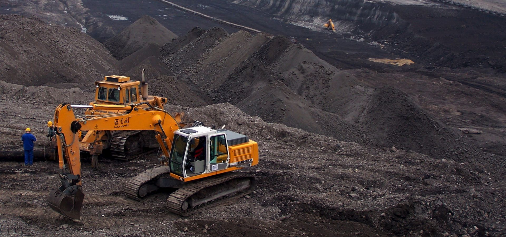 The Turow coal mine in Poland