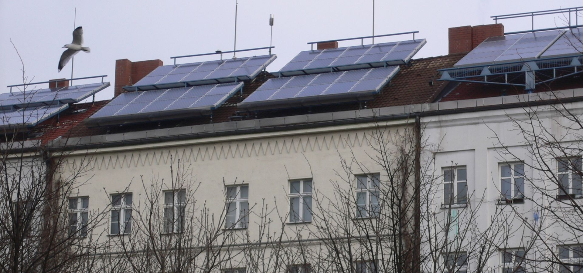 PV rooftop panels in Berlin