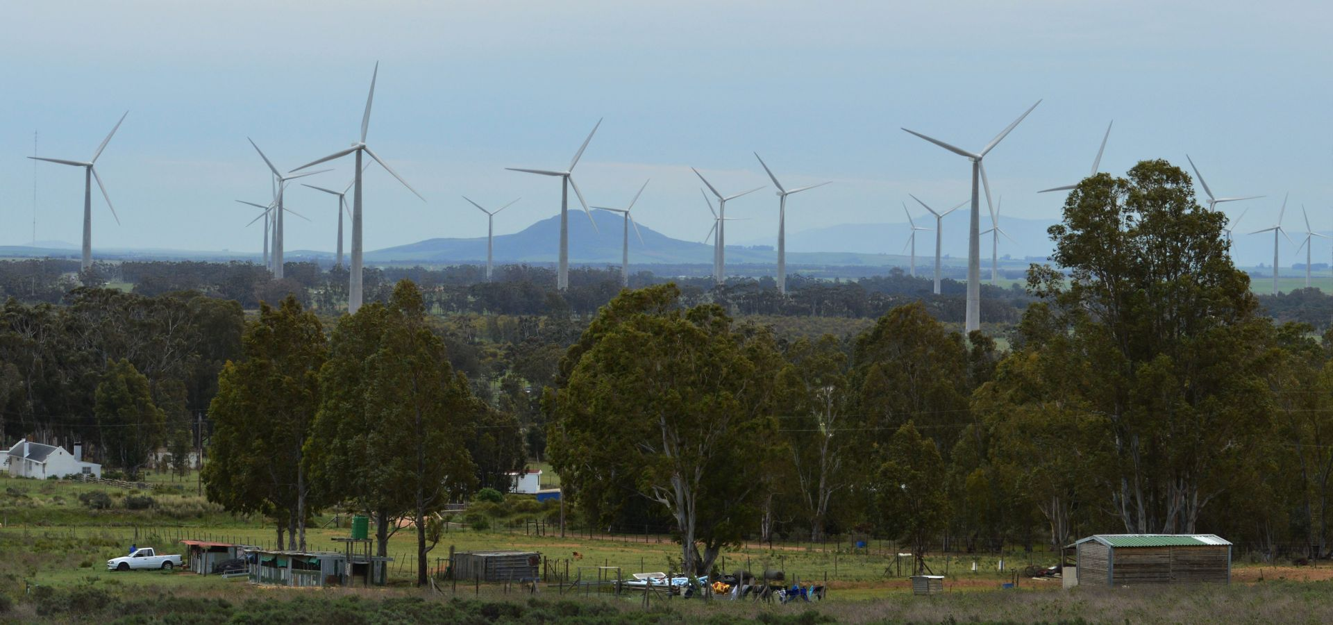 Gouda wind farm, South Africa