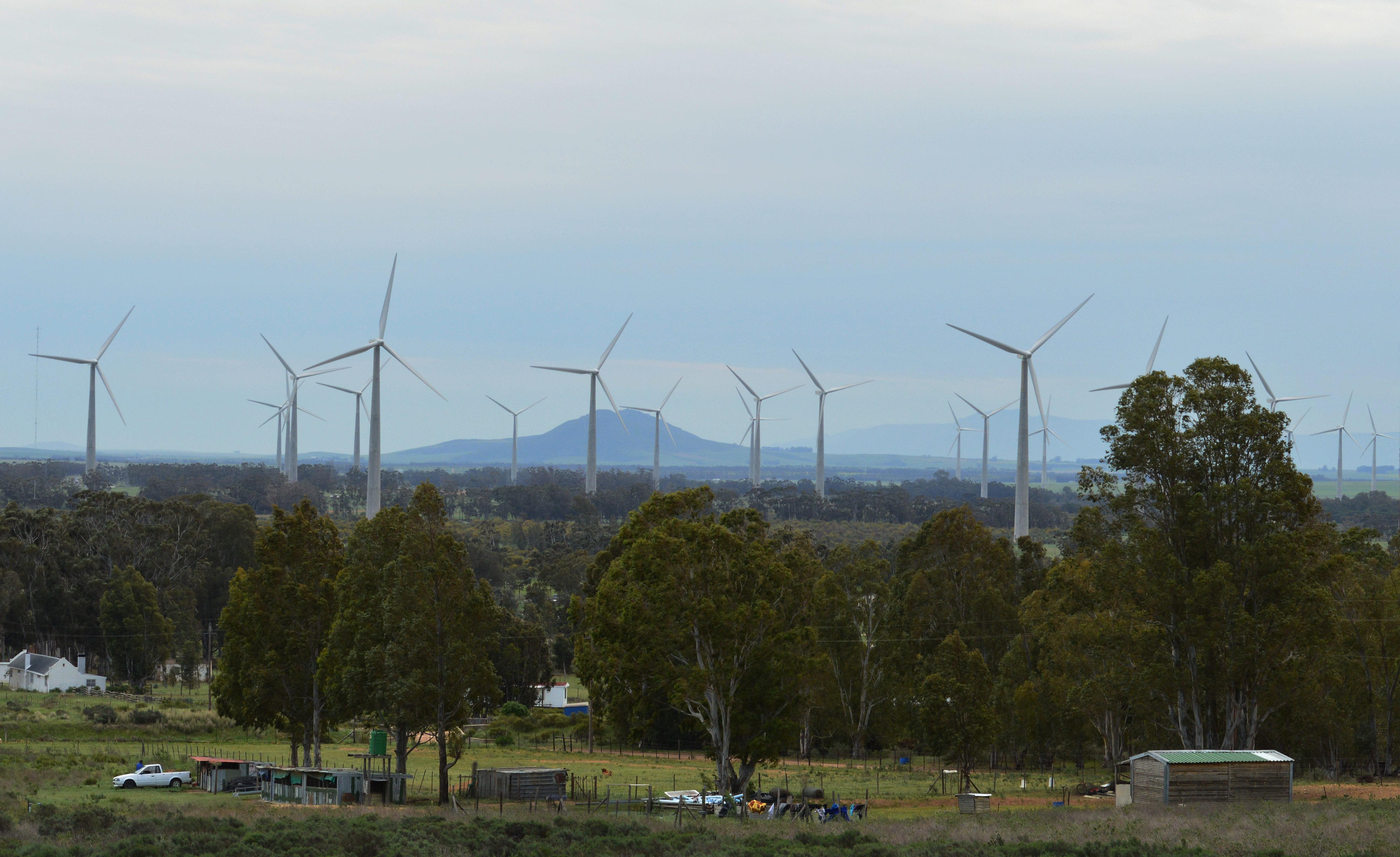 the Gouda wind farm, South Africa