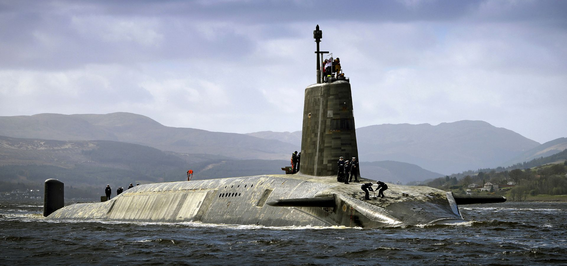 HMS Vigilant is the third Vanguard-class submarine of the Royal Navy. Vigilant carries the Trident ballistic missile, the United Kingdom's nuclear deterrent.