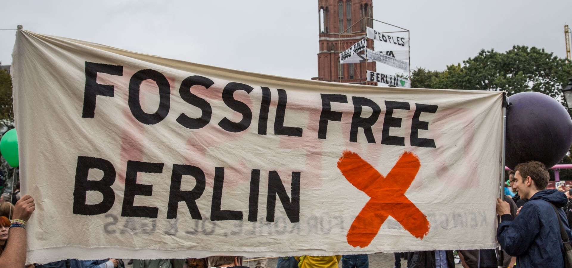 People's Climate March / Silent Climate Parade, Berlin