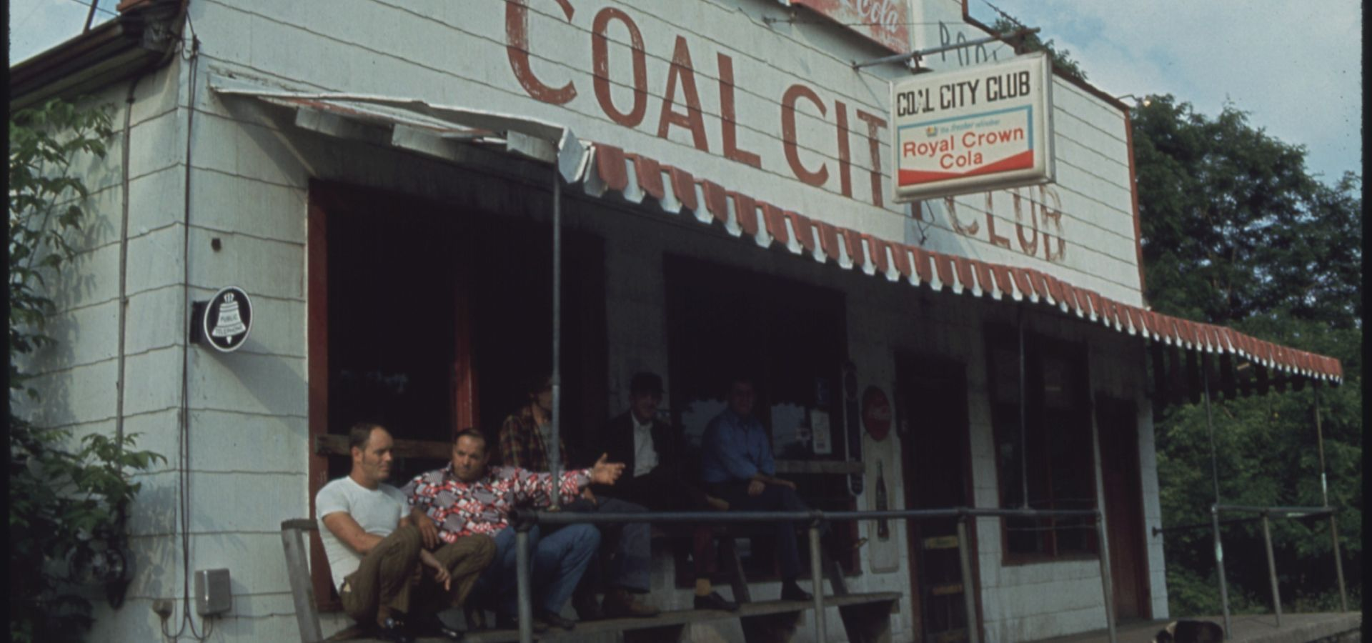 Miners in West Virginia's Coal Town, 1974