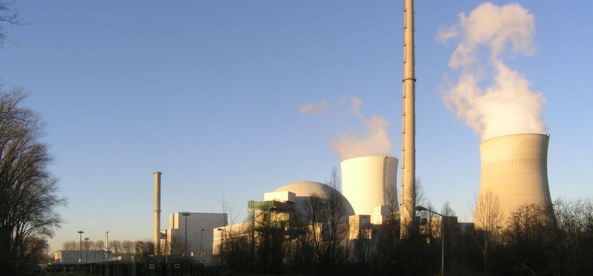 Philippsburg Nuclear Power Plant on a sunny day