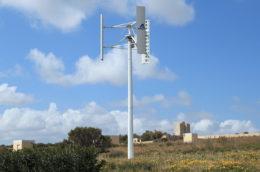 windmill in a field in Malta