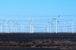 More than 200 Windturbines at Guazhou