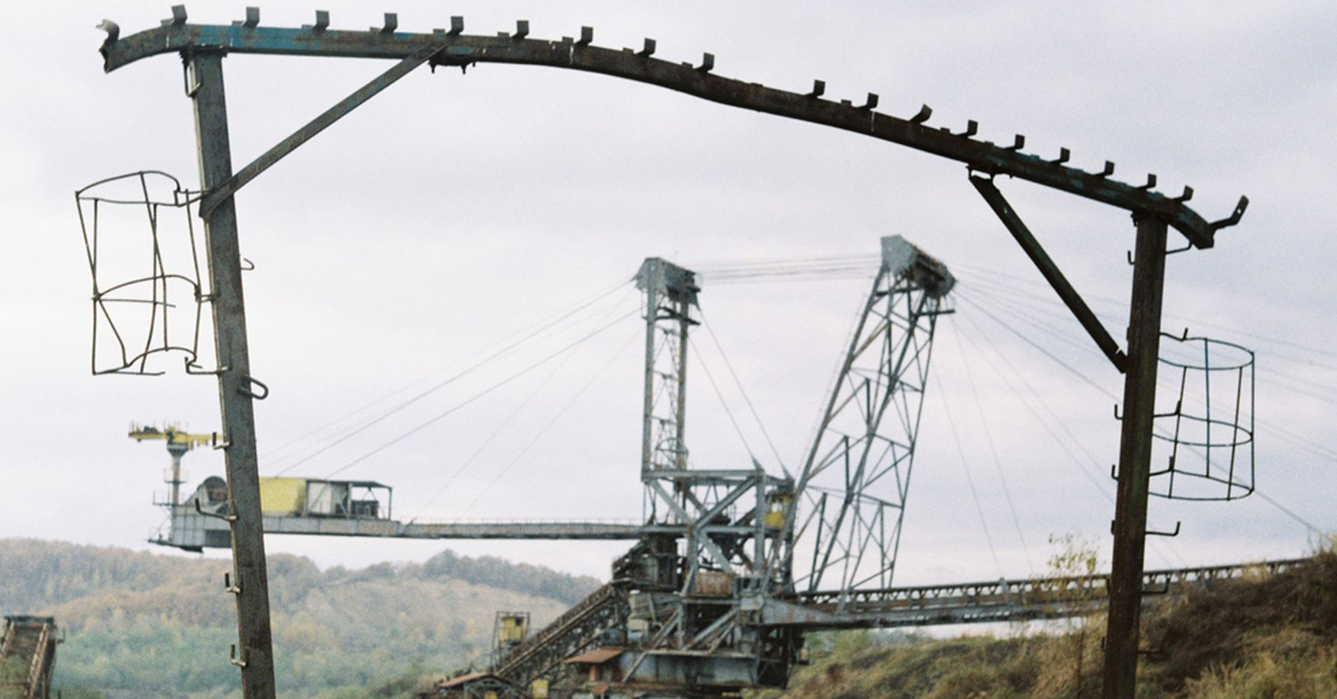 coal extraction in Romania
