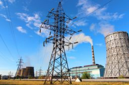 Pavlodar power station in Uzbekistan