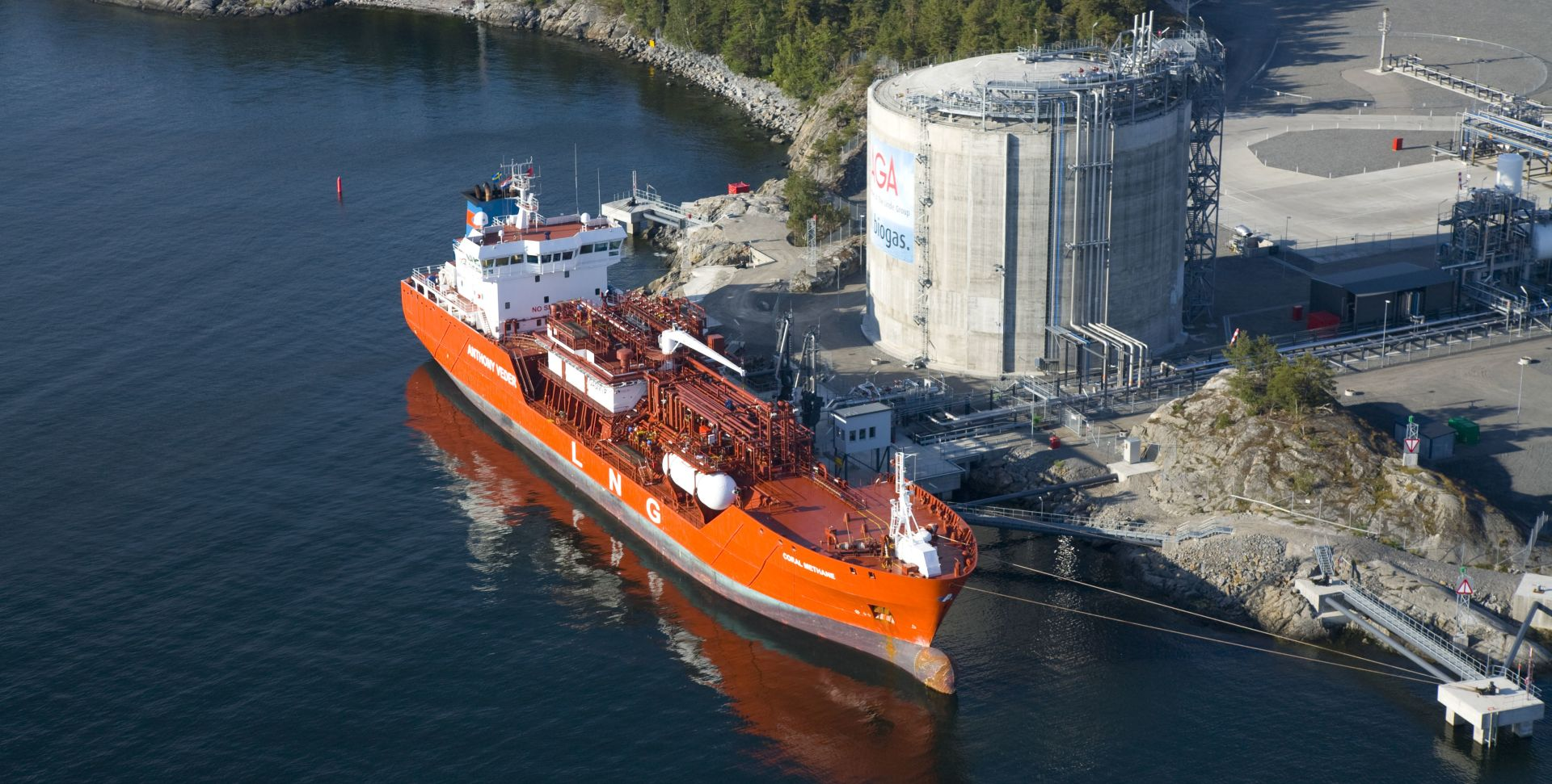 Liquified Natural Gas (LNG) terminal