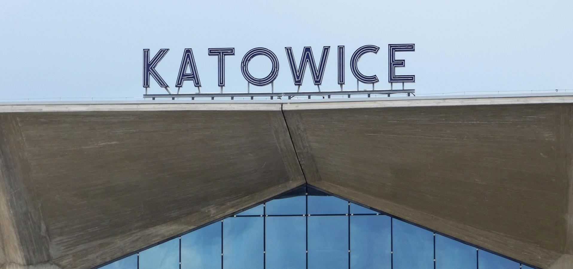 image of the Katowice train station