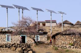 Solar technology based mini grid and home systems are a possibility for off-grid areas