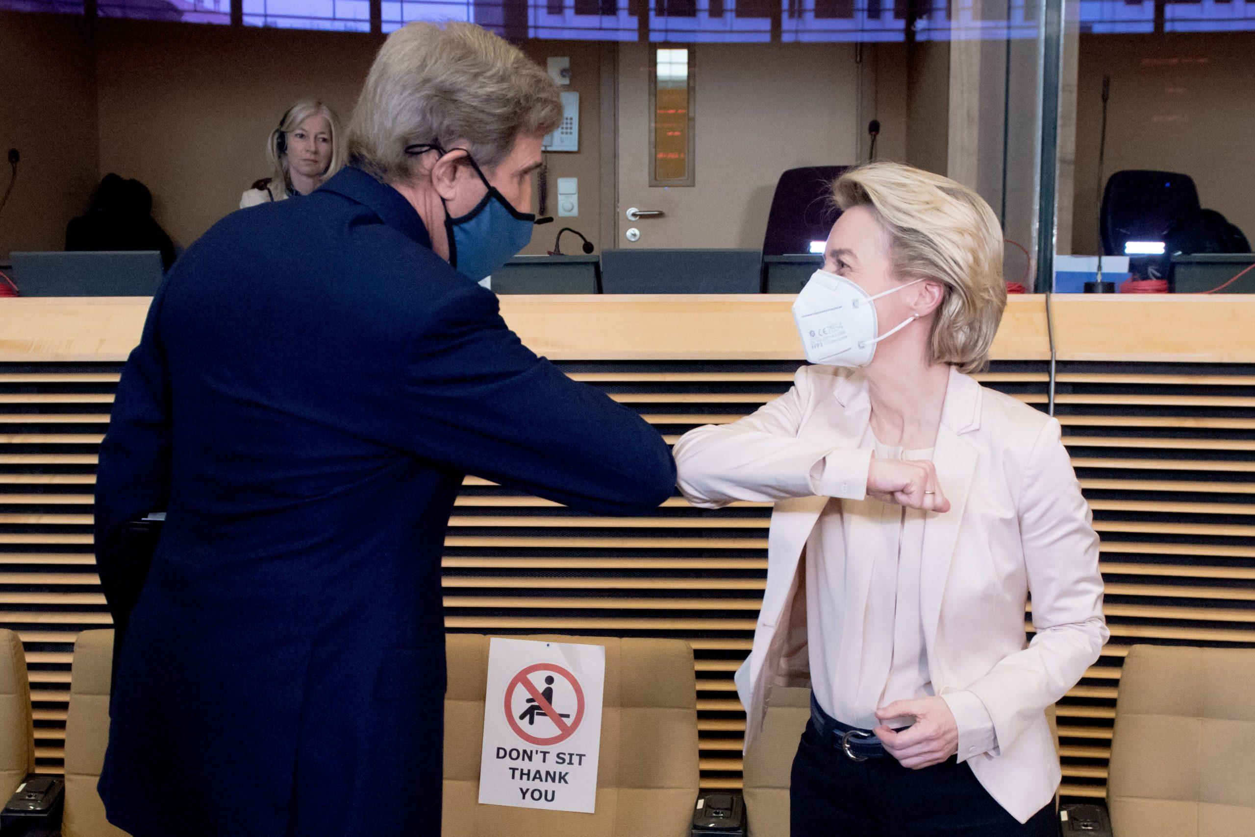 US climate envoy John Kerry visited London, Paris, and Brussels last week.
