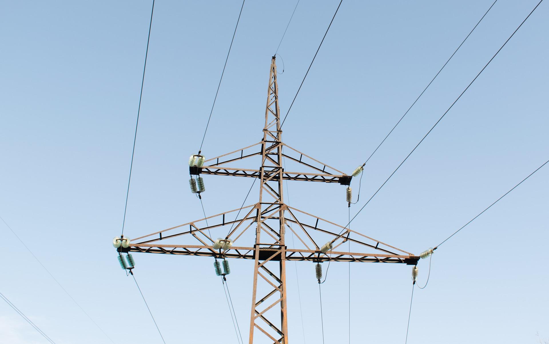 HIGH-VOLTAGE transmission lines