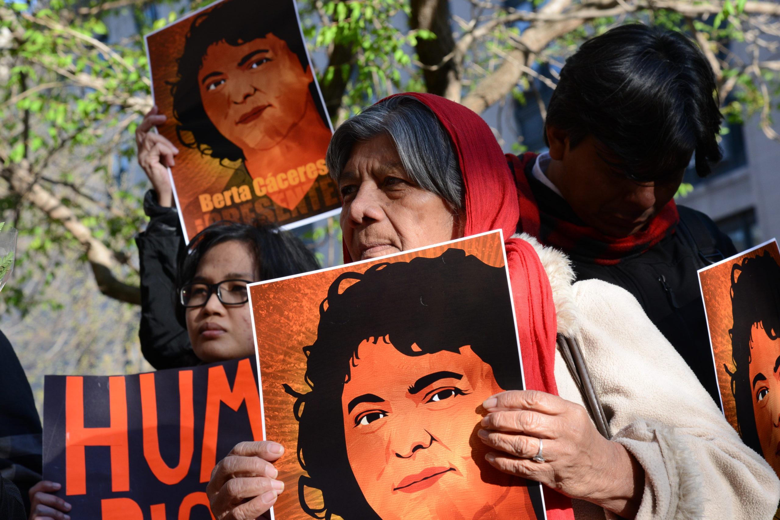 Vigil Berta Cáceres