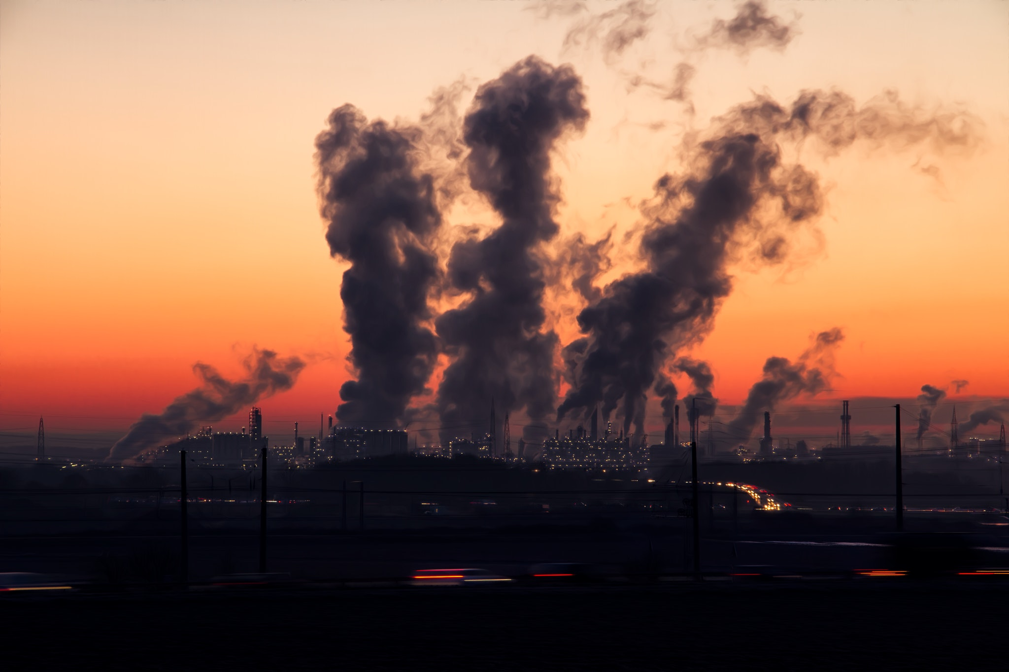 Fossil fuels such as coal, gas and oil still are large threads concerning global warming.
